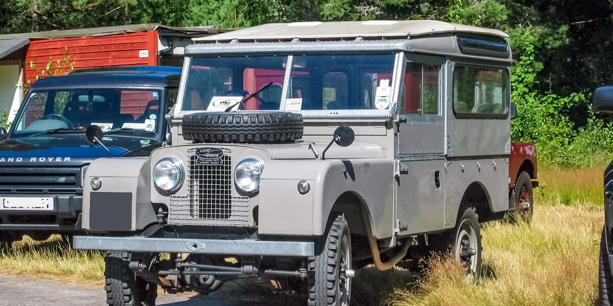 Ontwikkeling Land Rover Series
